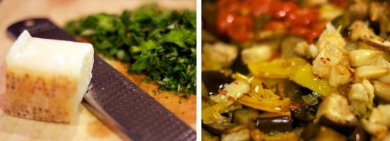 8- Cheese & Eggplant