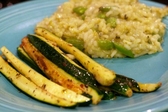 9- Risotto w:Zucchini