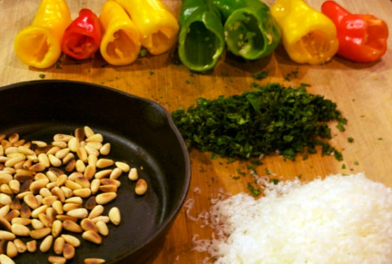 Peppers & Pinenuts