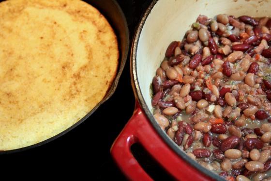 Photo - Cornbread & Beans