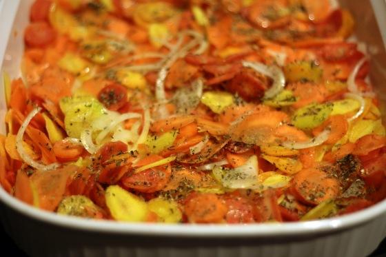 Carrots Roasting