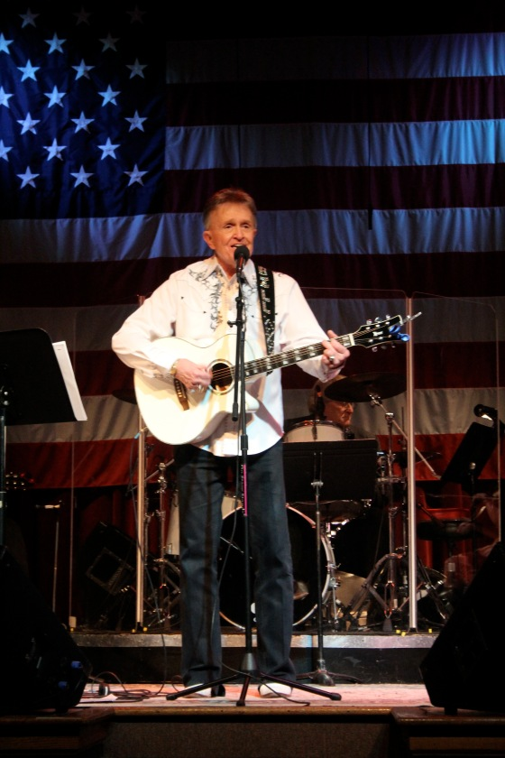 You can see country music legends like Bill Anderson play around town- even sometimes for free as was the case here. Ernest Tubb's Midnight Jamboree. March 2014.