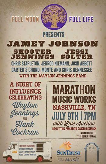 Poster for the Nashville event.