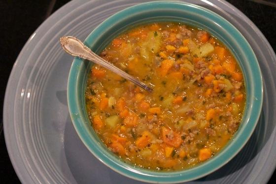 Big Bowl of Sweet Potato Soup
