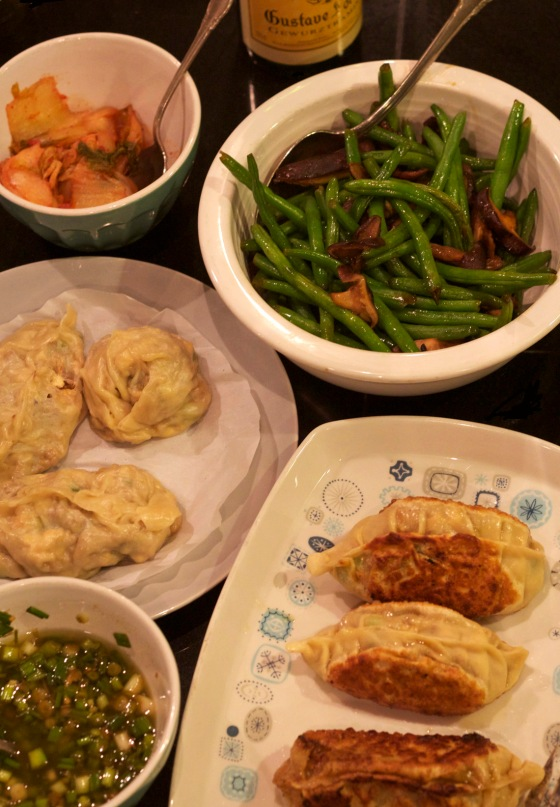 Dumplings & Beans