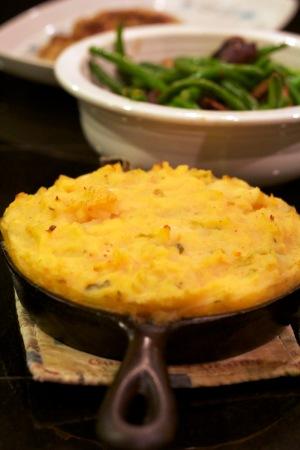Kimchi Mashed Potatoes