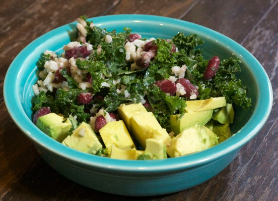 Add sliced avocado on the side for an even more deliciously satisfying lunch!